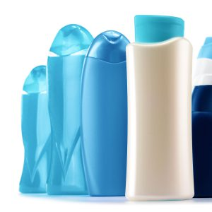 Emballage flacon pour shampoing